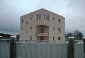 В Чеховском районе строительство дома