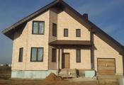 В Подольском районе в деревне Бережки построен дом