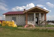 В Заокском построен дом с мансардным этажом